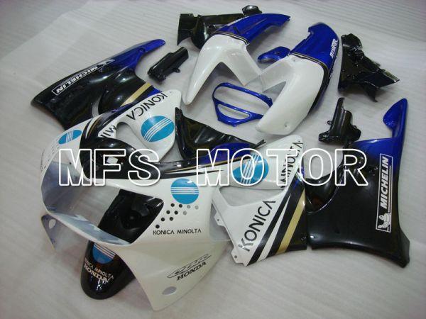 Honda CBR900RR 919 1998-1999 ABS Fairing - Konica Minolta - Black White - MFS4357
