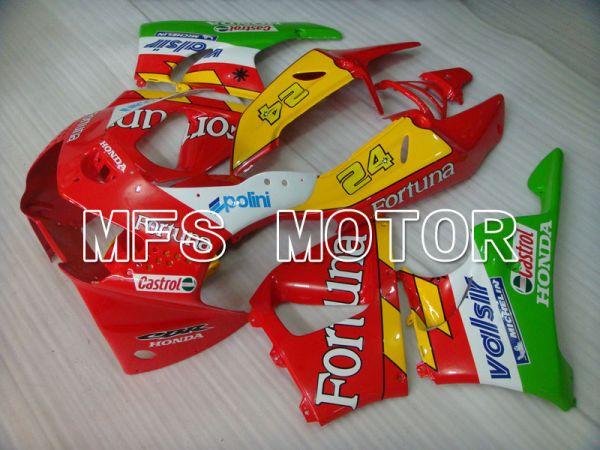 Honda CBR900RR 919 1998-1999 ABS Fairing - Fortuna - Red Yellow Green - MFS4367