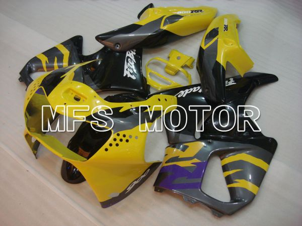 Honda CBR900RR 919 1998-1999 ABS Fairing - Factory Style - Black Yellow - MFS4374