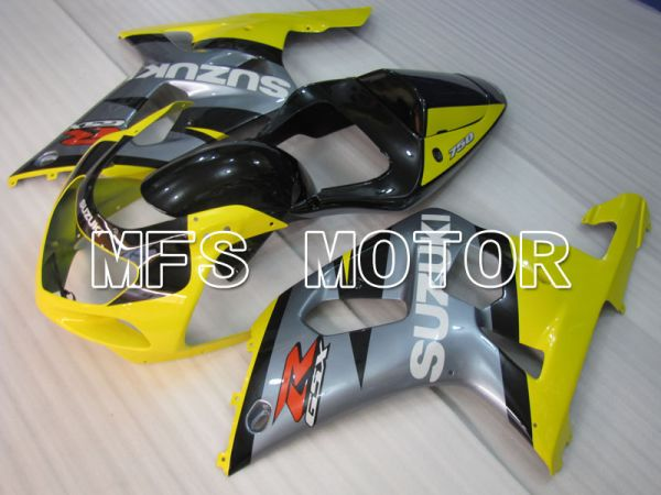 Suzuki GSXR1000 2000-2002 Injection ABS Fairing - Factory Style - Yellow Gray - MFS4387
