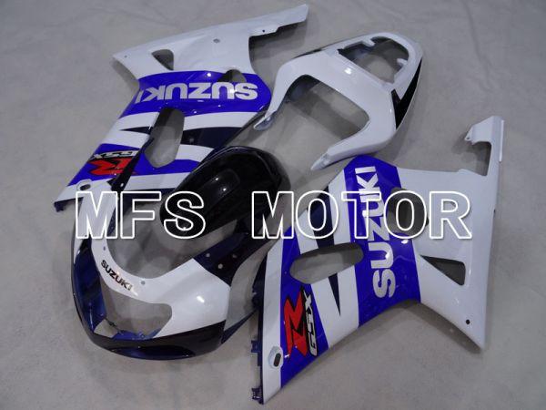Suzuki GSXR1000 2000-2002 Injection ABS Fairing - Factory Style - Blue White - MFS4390