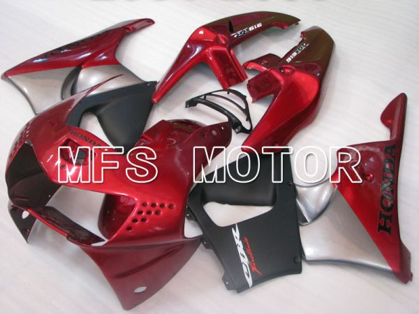 Honda CBR900RR 919 1998-1999 ABS Fairing - Factory Style - Red wine color Black Matte - MFS4391