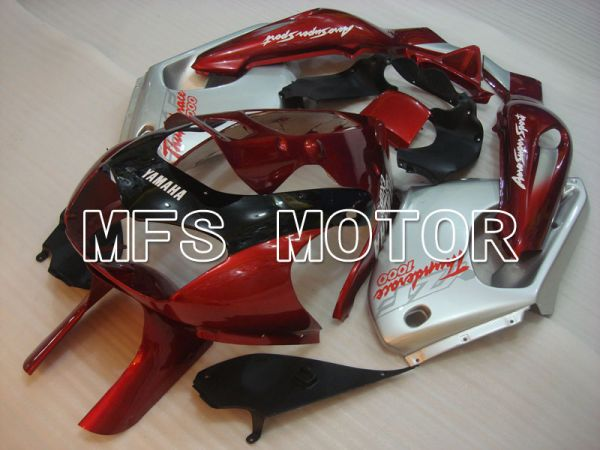 Yamaha YZF1000R 1997-2007 ABS Fairing - Factory Style - Red wine color Silver - MFS4393