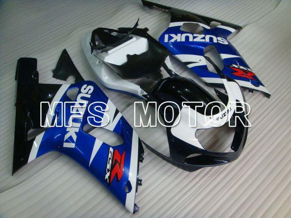 Suzuki GSXR1000 2000-2002 Injection ABS Fairing - Factory Style - Blue White - MFS4395
