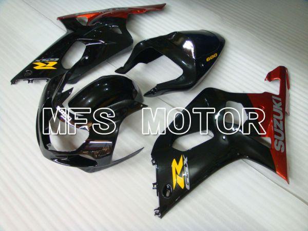 Suzuki GSXR1000 2000-2002 Injection ABS Fairing - Factory Style - Orange Black - MFS4401