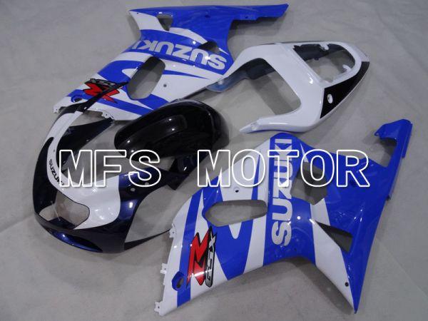 Suzuki GSXR1000 2000-2002 Injection ABS Fairing - Factory Style - Blue White - MFS4404