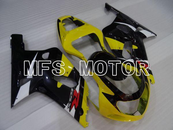 Suzuki GSXR1000 2000-2002 Injection ABS Fairing - Factory Style - Yellow Black - MFS4410