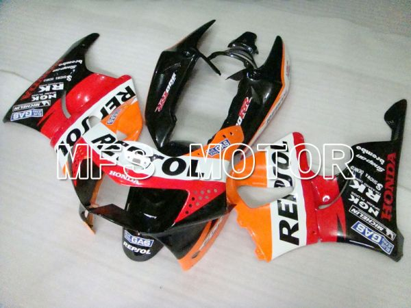 Honda CBR900RR 919 1998-1999 ABS Fairing - Repsol - Black Red Orange - MFS4413