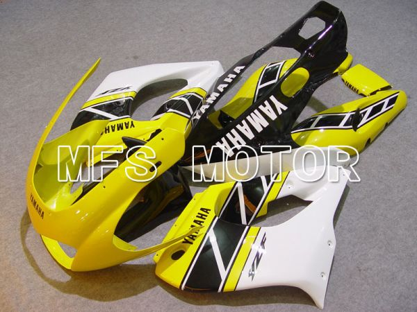 Yamaha YZF1000R 1997-2007 ABS Fairing - Factory Style - Black White Yellow - MFS4414