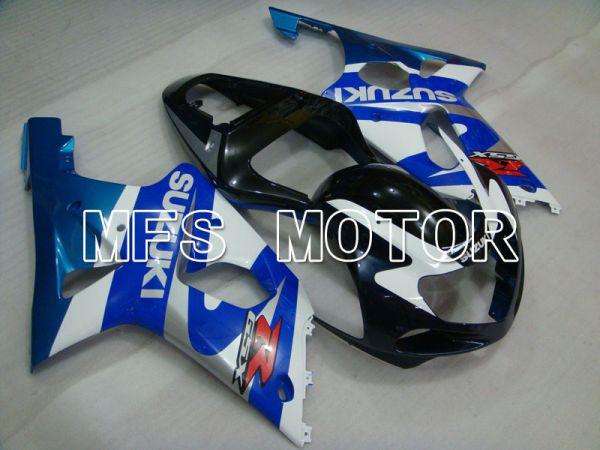 Suzuki GSXR1000 2000-2002 Injection ABS Fairing - Factory Style - Blue White - MFS4415