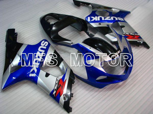 Suzuki GSXR1000 2000-2002 Injection ABS Fairing - Factory Style - Blue Silver - MFS4417