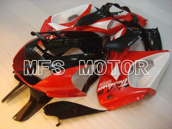 Yamaha YZF1000R 1997-2007 ABS Fairing - Factory Style - Black Red - MFS4418