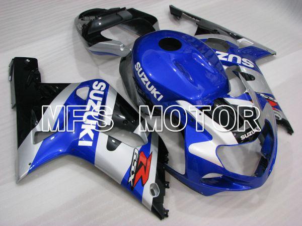 Suzuki GSXR1000 2000-2002 Injection ABS Fairing - Factory Style - Blue Silver - MFS4419