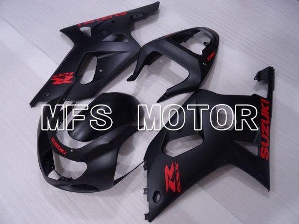 Suzuki GSXR1000 2000-2002 Injection ABS Fairing - Factory Style - Black Matte - MFS4422