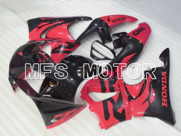 Honda CBR900RR 919 1998-1999 ABS Fairing - Factory Style - Black Red - MFS4424