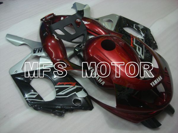 Yamaha YZF-600R 1997-2007 Injection ABS Fairing - Factory Style - Red wine color Black Silver - MFS4445