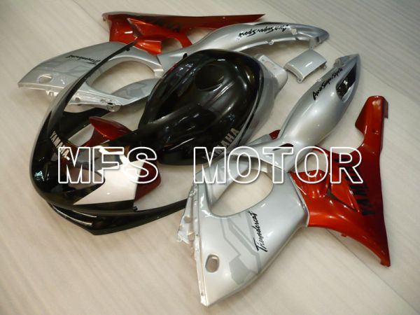 Yamaha YZF-600R 1997-2007 Injection ABS Fairing - Factory Style - Red wine color Black Silver - MFS4448