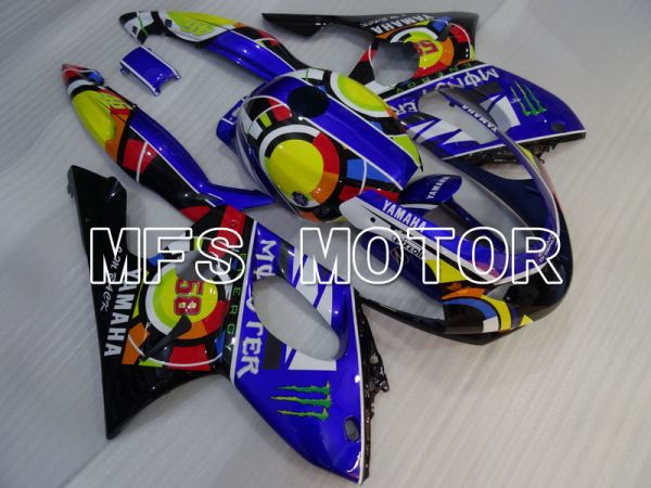 Yamaha YZF-600R 1997-2007 Injection ABS Fairing - Others - Blue - MFS4450
