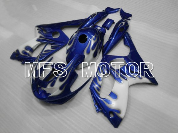 Yamaha YZF-600R 1997-2007 Injection ABS Fairing - Flame - Blue White - MFS4461