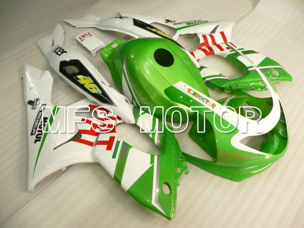 Yamaha YZF-600R 1997-2007 Injection ABS Fairing - FIAT - Green White - MFS4464