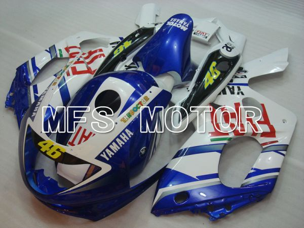 Yamaha YZF-600R 1997-2007 Injection ABS Fairing - FIAT - Green White - MFS4469