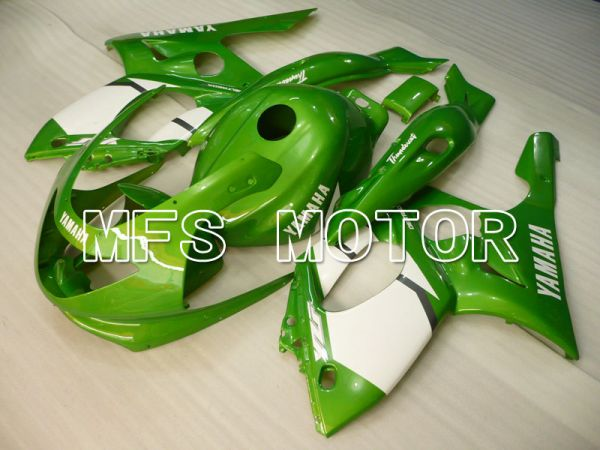 Yamaha YZF-600R 1997-2007 Injection ABS Fairing - Factory Style - Green White - MFS4472