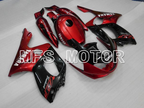 Yamaha YZF-600R 1997-2007 Injection ABS Fairing - Factory Style - Red wine color Black Silver - MFS4476