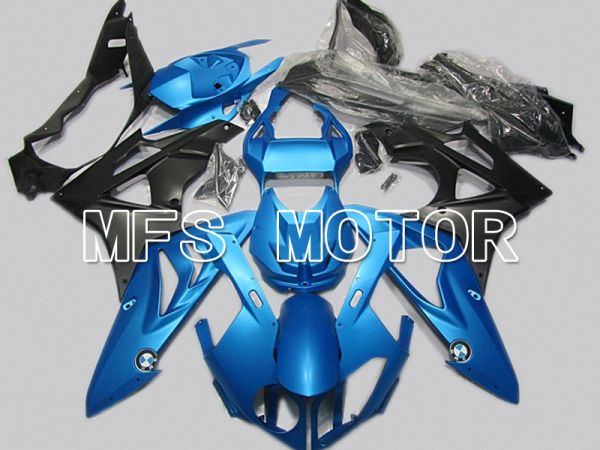 BMW S1000RR 2009-2014 Injection ABS Fairing - Factory Style - Black Blue - MFS4486