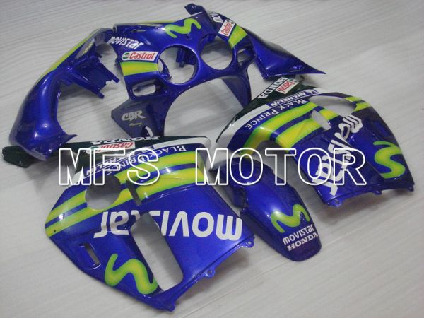 Honda CBR250RR MC19 1988-1989 Injection ABS Fairing - Movistar - Blue - MFS4487