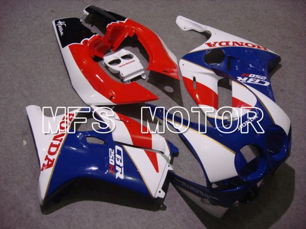 Honda CBR250RR MC19 1988-1989 Injection ABS Fairing - Others - Red White Blue - MFS4495