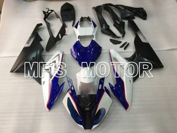 BMW S1000RR 2015-2016 Injection ABS Fairing - Factory Style - White Blue - MFS4507