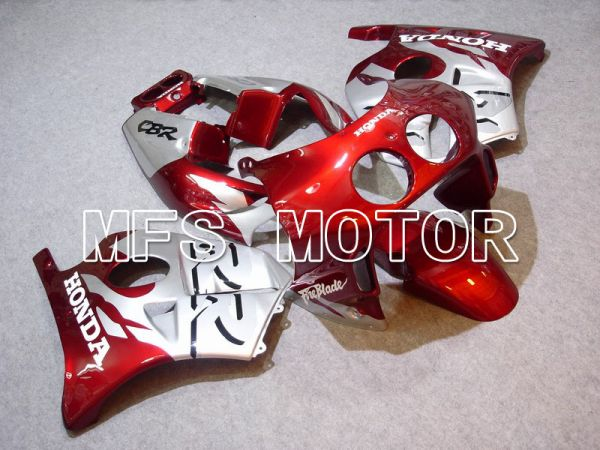 HONDA CBR 250RR MC22 1990-1998 Injection ABS Fairing - Fireblade - Red wine color Silver - MFS4512