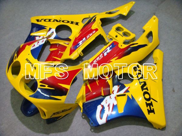 HONDA CBR 250RR MC22 1990-1998 Injection ABS Fairing - Fireblade - Yellow Red Blue - MFS4515