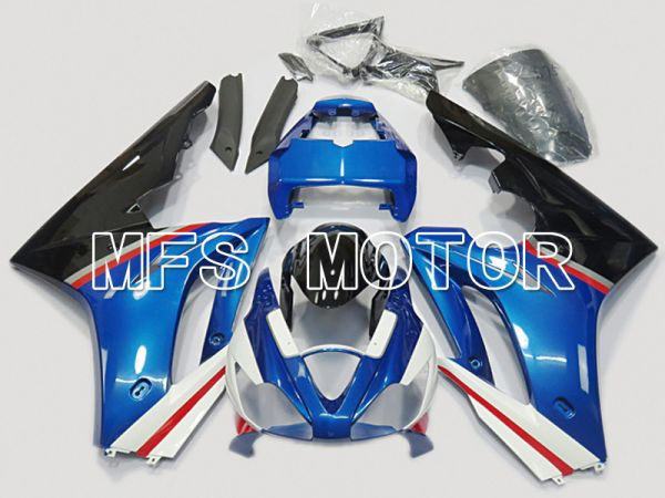 Triumph Daytona 675 2006-2008 Injection ABS Fairing - Factory Style - Black Blue - MFS4516
