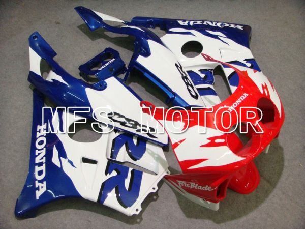 HONDA CBR 250RR MC22 1990-1998 Injection ABS Fairing - Fireblade - Red White Blue - MFS4517