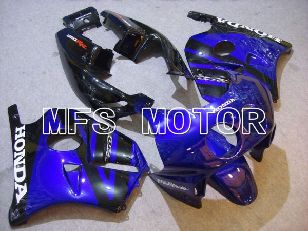 HONDA CBR 250RR MC22 1990-1998 Injection ABS Fairing - Fireblade - Black Blue - MFS4528