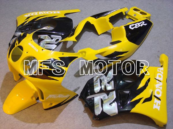 HONDA CBR 250RR MC22 1990-1998 Injection ABS Fairing - Fireblade - Black Yellow - MFS4531