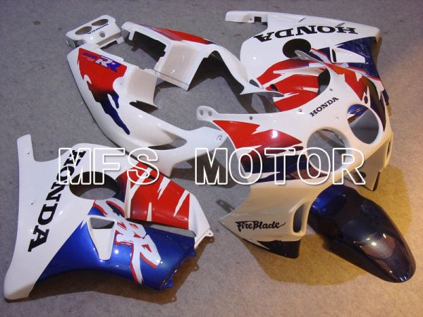 HONDA CBR 250RR MC22 1990-1998 Injection ABS Fairing - Fireblade - Red White Blue - MFS4533