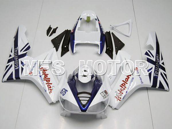 Triumph Daytona 675 2009-2012  Injection ABS Fairing - Others - Blue White - MFS4534
