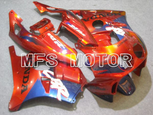 HONDA CBR 250RR MC22 1990-1998 Injection ABS Fairing - Fireblade - Orange Blue - MFS4539