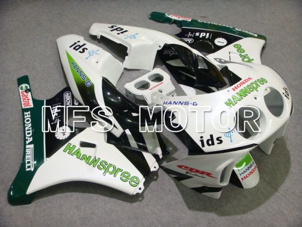HONDA CBR 250RR MC22 1990-1998 Injection ABS Fairing - HANN Spree - Green White - MFS4543
