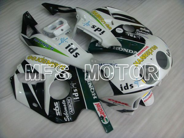 HONDA CBR 250RR MC22 1990-1998 Injection ABS Fairing - HANN Spree - Green White - MFS4546