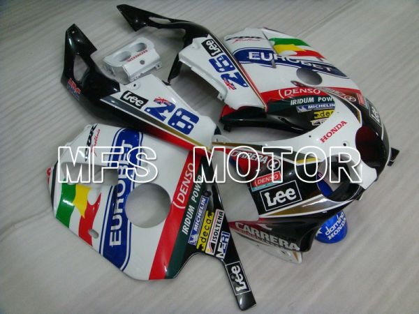 HONDA CBR 250RR MC22 1990-1998 Injection ABS Fairing - Lee - Black White - MFS4549