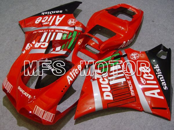 Ducati 748 / 998 / 996 1994-2002 Injection ABS Fairing - Alice - Black Red - MFS4550