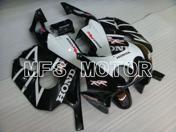 HONDA CBR 250RR MC22 1990-1998 Injection ABS Fairing - Fireblade - Black White - MFS4558