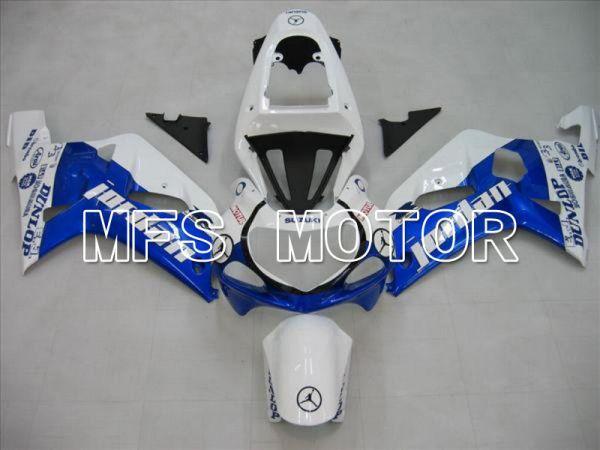 Suzuki GSXR600 2001-2003 Injection ABS Fairing - Jordan - Blue White - MFS4559