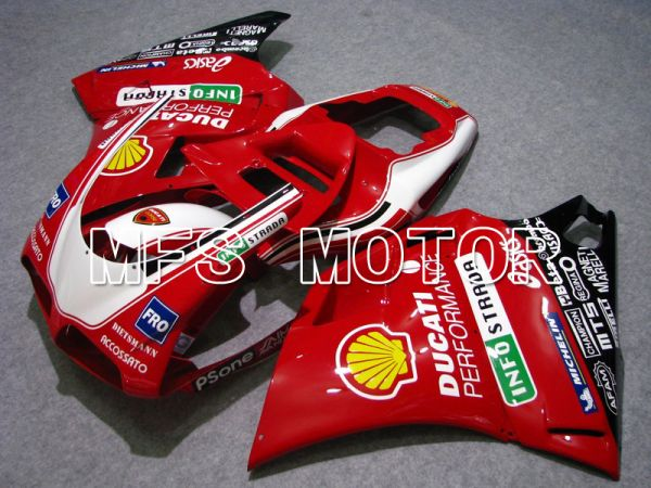 Ducati 748 / 998 / 996 1994-2002 Injection ABS Fairing - INFO STRADA - Red - MFS4562