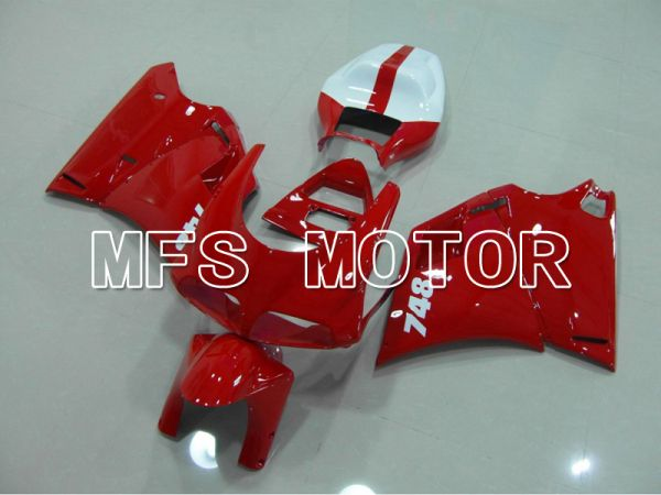 Ducati 748 / 998 / 996 1994-2002 Injection ABS Fairing - Factory Style - Red White - MFS4576