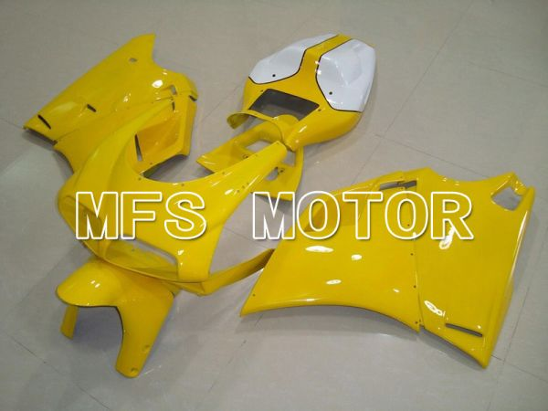 Ducati 748 / 998 / 996 1994-2002 Injection ABS Fairing - Factory Style - Yellow White - MFS4579