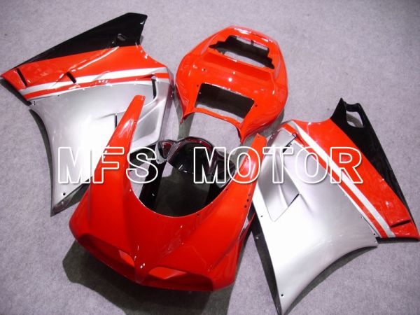 Ducati 748 / 998 / 996 1994-2002 Injection ABS Fairing - Factory Style - Red Silver - MFS4587